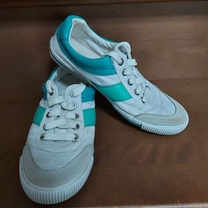 Coach Cady Sneakers leather and fabric